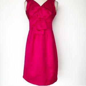 Nanette Lepore hot pink cocktail dress